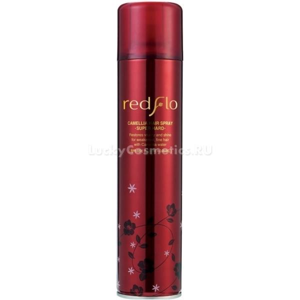 Flor de Man Redflo Camellia Hair Spray Super HardСпрей для волос из высокоэффективной серии продуктов по уходу за волосами на основе масла камелии способен не только надежно зафиксировать укладку, но и дать волосам прекрасный уход и заботу.<br>Это средство обладает невероятной стойкостью при любых погодных условиях. Redflo Super Hard сохранит первозданный облик прически или укладки в течение всего дня. Имея в составе уникальные компоненты, которые помогают ухаживать за волосами, спрей, помимо функции фиксации, имеет способность питать, восстанавливать, увлажнять и защищать волосы от губительного влияния окружающей среды.<br>Масло камелии, входящее в состав спрея, не только даст волосам полноценное питание и увлажнение, но и успокоит кожу головы, избавляя от раздражений, шелушений и перхоти. Camellia Hair Spray укрепит волосяные луковицы, делая волосы более сильными, прочными и упругими. Кроме этого, масло избавит от сечения, ломкости и выпадения волос.<br>При регулярном применении данного средства, волосы не только сохранят безупречный внешний вид, но и получат заботу изнутри: они станут сильными, блестящими, прочными, гладкими и здоровыми.Объём: 300 мл.Способ применения:Распылять спрей на укладку с расстояния десяти-пятнадцати сантиметров от волос.<br>
