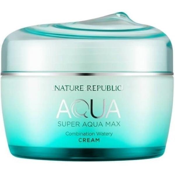Nature Republic Super Aqua Max Combination Watery Cream  - Купить
