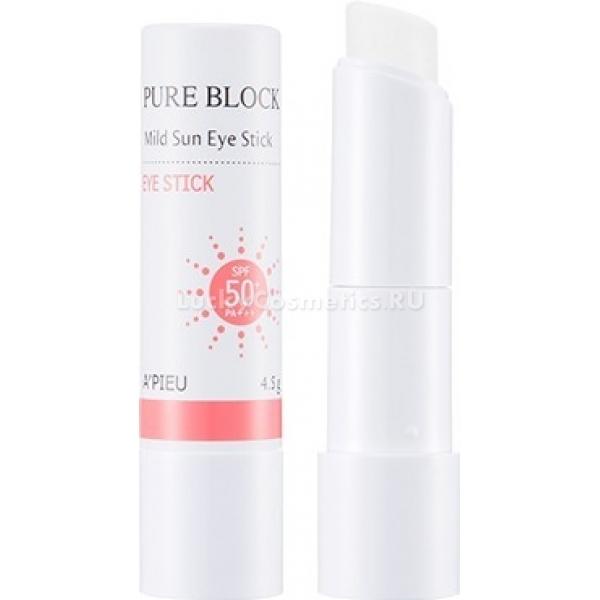 Купить APieu Pure Block Mild Sun Eye Stick, A'Pieu