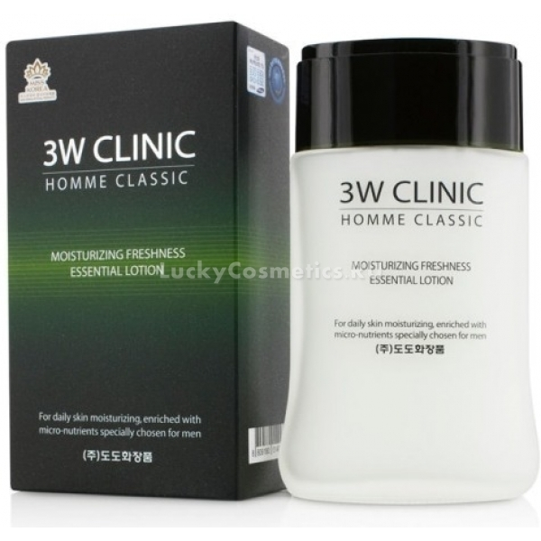 W Clinic Classic Moisturizing Freshness Essential Lotion