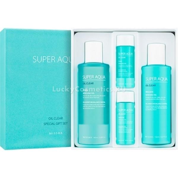 Купить Missha Super Aqua Oil Clear Special Gift Set
