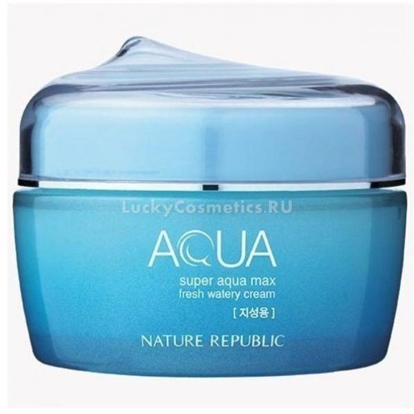 Купить Nature Republic Super Aqua Max Fresh Watery Cream