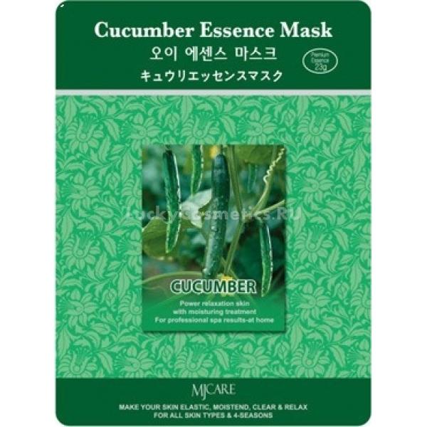 Mijin Cosmetics Cucumber Essence MaskТканевая маска от Mijin Cosmetics&amp;nbsp;с огуречным экстрактом Cucumber Essence Mask быстро справляется с раздражениями, улучшает цвет и состояние кожи. Экстракт из плодов огурцов обогащает клетки эпидермиса витамином С &amp;mdash; жизненно необходимым антиоксидантом, ионами калия, выводящими продукты обмена и токсины из тканей, а фермент лизоцим обеспечивает отбеливание и тщательное очищение.<br><br>Огуречная маска тонизирует кожу лица, а её применение безопасно для любого типа кожи, так как содержит натуральные ингредиенты и гипоаллергенные увлажняющие компоненты.<br><br>&amp;nbsp;<br><br>Объём: 23 г<br><br>&amp;nbsp;<br><br>Способ применения:<br><br>Охладите маску перед использованием в холодильнике и положите прохладную ткань на очищенное предварительно лицо. Затем устройтесь на диване или в кресле, отклонив голову назад, и предоставьте огуречной эссенции впитываться в кожу примерно 20 минут. После этого устраните ткань и сделайте аккуратный массаж лица пальцами, втирая эссенцию до полного впитывания. В конце процедуры умойте лицо тёплой водой. Применяйте маску не чаще 2-3 раз в неделю.<br>