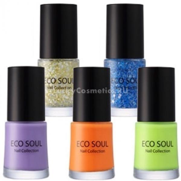 Купить The Saem Eco Soul Nail Collection LED