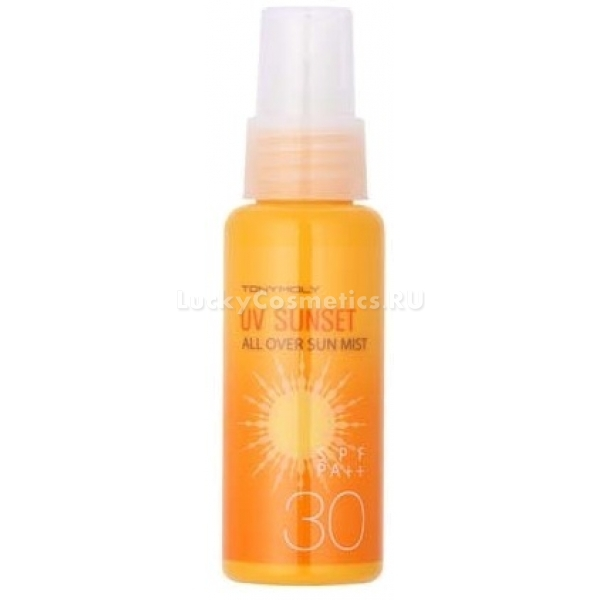 Tony Moly  Spf UV Sunset All Over Sum Mist