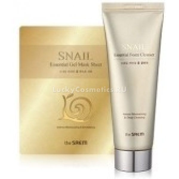 The Saem Snail Essential Special Gift Set Cleansing FoamSheet