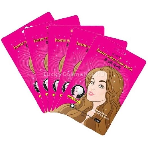 Набор масок для волос подарочный Kocostar Home Salon Hair Pack Gift Box