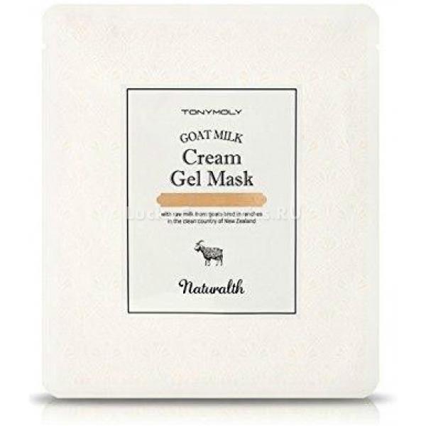 Купить Tony Moly Naturalth Goat Milk Cream Gel Mask