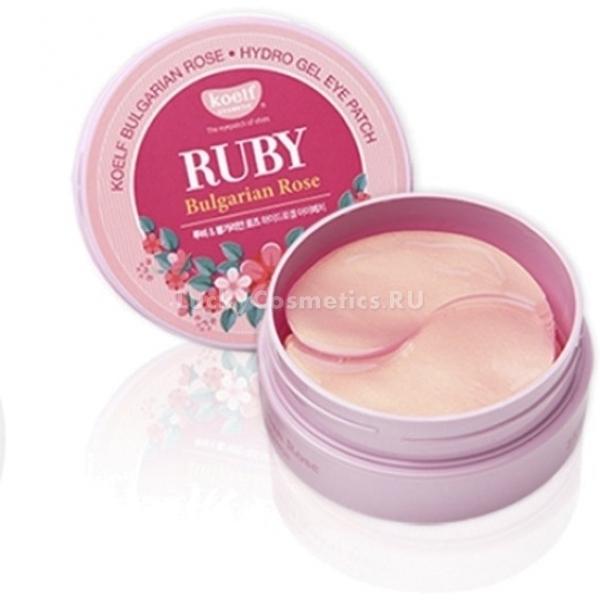 Koelf Hydro Gel Ruby amp Bulgarian Rose Eye Patch -  Для лица