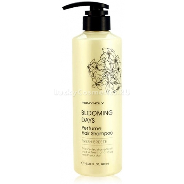 Tony Moly Blooming Days Perfume Hair Shampoo Fresh Breeze