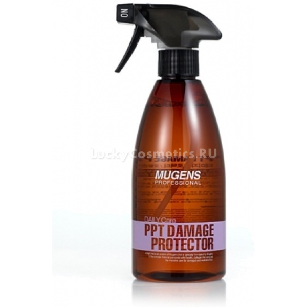 Welcos Mugens PPT Damage ProtectorДанный спрей относится к средствам экспресс-ухода и создан специально для того, чтобы быстро восстановить привлекательный вид волосам. Mugens Protector подходит для сухих поврежденных волос.<br>Активные компоненты спрея увлажняют и позволяют сохранять влагу на длительное время.  В состав PPT Damage входят только натуральные ингридиенты, которые проникая вглубь, восстанавливают поврежденную структуру волоса. Обладает защитными свойствами от воздействия окружающей среды, а также при использовании фена, утюжков и т.д. Достаточно всего несколько распылений и волосы получат массу полезных веществ. При регулярном применении перестают ломаться, исчезают секущиеся кончики, становятся шелковистыми и блестящими.Объём: 500 мл.Способ применения:Распылить средство на вланые волосы, смыть водой<br>
