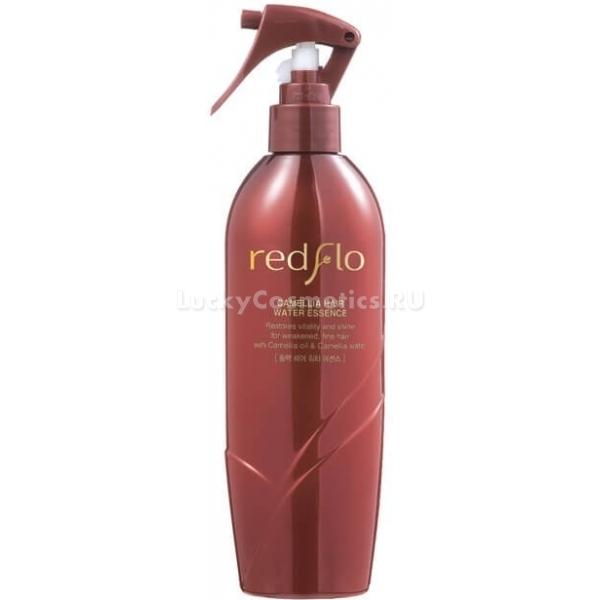 Flor de Man Redflo Camellia Hair Water EssenceДанное высококонцентрированное средство входит в линию продуктов для поврежденных и ослабленных волос на основе масла камелии, которое знаменито своими уникальными свойствами в уходе за волосами и кожей головы.<br>Масло камелии в составе Redflo Essence находится в высокой концентрации, что позволяет ему эффективно воздействовать на структуру волос изнутри, восстанавливая и выравнивая ее. Масло оказывает интенсивное питательное, увлажняющее, успокаивающее и защитное действие. Оно бережно заботится о волосах и о коже головы, избавляя от шелушений, перхоти и других кожных недугов. Масло избавит от сечения, ломкости, сухости и потери волос, оно даст надежную защиту волосам от перепадов температурного режима.<br>Продукт имеет необычайно тонкий аромат, нежную и легкую консистенцию. Camellia Hair Water легко распределяется, обволакивая волоски по всей длине. При регулярном использовании волосы становятся невероятно гладкими и приятными на ощупь, они хорошо пахнут, обретают блеск и силу, легко расчесываются.Объём: 300 мл.Способ применения:Распылять на чистые волосы в сухом или влажном состоянии. Эссенцию рекомендуется применять ежедневно.<br>