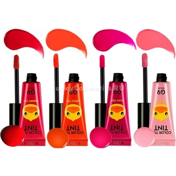 Berrisom G Skin Color Tok TintМечтает о стойком и ярком тинте для губ? Популярный корейский бренд Berrisom G9 покорил модниц своей линейкой потрясающих Color Tok Tint.<br><br>Насыщенные цвета, удобный мягкий аппликатор, точное нанесение и ухаживающий состав с алоэ-вера &amp;ndash; вот главные достоинства тинта от Berrisom. Вы сможете долго носить его в течение дня, не боясь перекусить или выпить чашку кофе. Забудьте о сушащих помадах, увлажняющие компоненты позаботятся о мягкости ваших губ.<br><br>Варианты оттенков:<br><br>нежный Peach Tok<br><br>сочный и неотразимый Plum Tok<br><br>яркий и игривый Apple Tok<br><br>соблазнительный Cherry Tok<br><br>&amp;nbsp;<br><br>Объём: 5 мл.<br><br>&amp;nbsp;<br><br>Способ применения:<br><br>Наберите небольшое количество тинта на аппликатор, аккуратно нанесите и растушуйте. Вы неотразимы!<br>