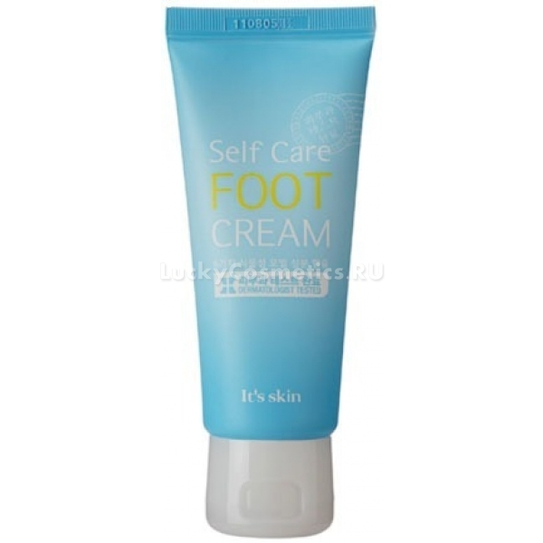 Its Skin Self Care Foot CreamБольшая часть нагрузок приходится именно на ноги. Подарите им в конце дня релакс с помощью расслабляющего крема Self Care Foot Cream. Продукт помогает снять напряжение, тяжесть и отечность. Мягко успокаивает и смягчает сухую кожу. Интенсивные питательные компоненты помогут размягчить мозоли и натоптыши. А при регулярном применении и вовсе избавиться от них. Легкая текстура моментально впитывается, увлажняет кожу и дарит ей приятный аромат. Не вызывает чувства жирности и липкости. Способствует улучшению микроциркуляции крови в тканях, усиливает клеточное дыхание и дезодорирует.Объём: 68 гр.Способ применения:На сухую чистую кожу стоп нанесите необходимое количество крема и дождитесь впитывания. Для облегчения тяжести в ногах предварительно опустите ножки в прохладную воду с добавлением мятного отвара.<br>