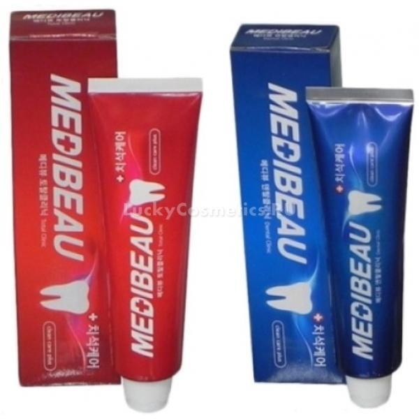 Medibeau Toothpaste ClinicУдалить зубной налет, освежить дыхание и вернуть зубам непревзойденную белизну поможет эффективная зубная паста Toothpaste Dental Clinic от корейского бренда Medibeau. Паста с натуральной основой эффективно борется с причиной неприятного запаха – бактериями и дарит свежее дыхание с утра и до вечера. Эффективная очищающая формула проникает в самые дальние и недоступные уголки полости рта, счищает налет, удаляет зубной камень и отбеливает. При этом щадящая формула средства не нарушает структуру зуба и эмали, запечатывает мелкие трещинки и предотвращает развитие кариеса. Обладает мощным профилактическим действием, предотвращает образование пародонтоза, гингивита и других заболеваний полости рта. Приятная растительная основа средства не раздражает нежную слизистую и не имеет химического послевкусия. Достаточно всего одной горошины пасты для тотального очищения полости рта.Объём: 120 мл.Способ применения:Выдавите немного средства на зубную щетку и проведите гигиеническую чистку полости рта.<br>