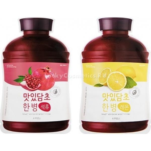 Купить Apieu Fruit Vinegar Sheet Mask, A'Pieu