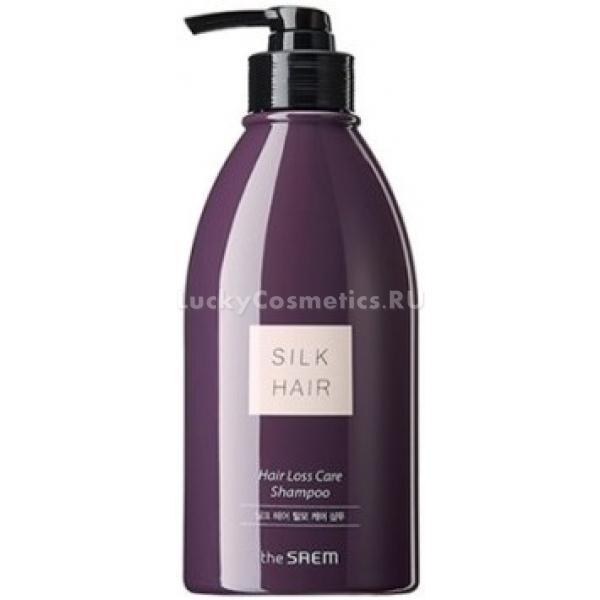 Купить The Saem Silk Hair Hair Loss Care Shampoo