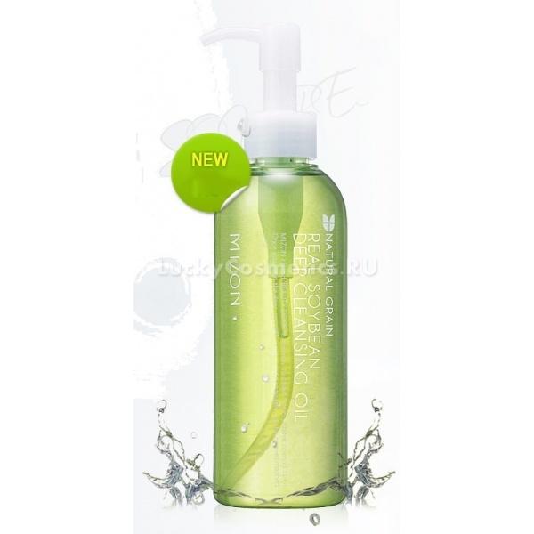 Mizon Real Soy Bean Deep Cleansing OilMizon Real Soy Bean Deep Cleansing Oil &amp;ndash; революционное средство для умывания, основанное на соединении свойств двух растворителей &amp;ndash; воды и липидов. Из-за того, что большинство разновидностей качественной косметики являются водостойкими, обычные средства для их снятия очищают кожу недостаточно тщательно, оставляя следы макияжа, прежде всего, в порах, мелких морщинках и других углублениях кожи лица.<br><br>Специалисты Mizon пришли к выводу, что жирные средства для снятия макияжа также недостаточно очищают кожу из-за меньшей текучести и объема по сравнению с водными растворителями. Поэтому они решили соединить два вида растворителя в одном, благодаря чему и появилось Real Soy Bean Deep Cleansing Oil.<br><br>Как работает Deep Cleansing Oil<br><br>Эмульсия создана на основе масла соевых бобов, которое, в отличие от других гидрофобных жиров, является гидрофильным, то есть не отталкивает воду, а способно растворятся в ней. Поэтому когда это средство для демакияжа соединяется с водой на поверхности кожи, полученная смесь способна растворить как водорастворимые, так и жирорастворимые загрязнения.<br><br>Вдобавок ко всему, соевое масло, в совокупности с другими компонентами, легко усваивается кожей и впитывает полезные соединения, которые увлажняют, смягчают кожу и успокаивают её. Защитный липидный слой эпидермиса при этом не страдает, и кожа лучше защищается от факторов воздействий окружающей среды.<br><br>Soy Bean Oil поможет избавиться от макияжа быстро и эффективно, оздоровительная эмульсия помогает покровам восстановиться после длительного пребывания под слоями косметических средств. Но даже если вы просто живете в городе, это средство для умывания уберет с вашего лица пыль и вездесущие загрязнения, постоянно появляющиеся в урбанизированных районах. То же самое относится и к туризму на природе &amp;ndash; без регулярного ухода кожа может измениться в худшую сторону, но Soy Bean Deep Cleansing Oil спасет ваше лицо 