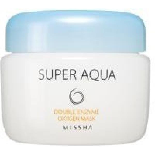 Missha Super Aqua Oxygen Double Enzyme Mask -  Для лица