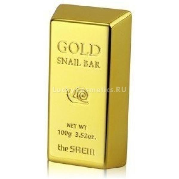 The Saem Gold Snail BarУникальное мыло с натуральными компонентами способствует очищению кожи от различных загрязнений. Данное средство отлично питает кожные покровы и создает все условия для эффективного обновления кожных клеток.<br><br>Благодаря экстракту золота данное средство оказывает противовоспалительное действие на кожу, улучшает ее способность впитывать и сохранять влагу. Еще мыло для умывания The Saem Gold Snail Bar является своеобразным &amp;laquo;проводником&amp;raquo; для биологически активных веществ, например, таких, как витамины и растительные экстракты.<br><br>Олива в составе мыла предназначена для питания, смягчения и увлажнения кожи, кроме того, она имеет способность восстанавливать здоровый цвет лица. Муцин улитки способствует эффективному обновлению клеток кожи, заживляет поврежденные кожные покровы, устраняет их тусклость и усталость.<br><br>&amp;nbsp;<br><br>Объём: 100 гр<br><br>&amp;nbsp;<br><br>Способ применения:<br><br>Мыло для умывания требуется намочить, взбить на нем небольшое количество пены, которую затем следует нанести на кожу. Массировать лицо необходимо в течение нескольких минут, после можно будет смыть средство теплой водой и обтереть лицо полотенцем.<br>