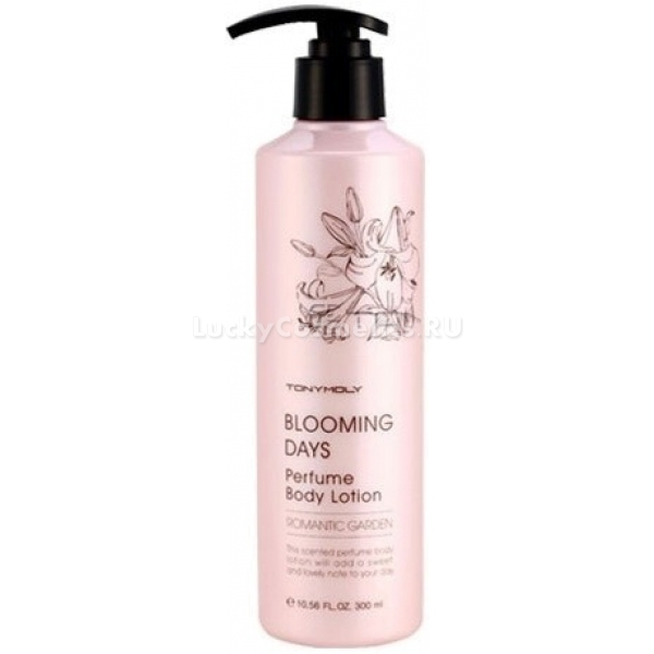 Tony Moly Blooming Days Perfume Body Lotion Romantic Garden