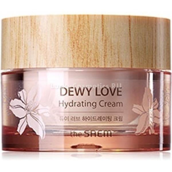 Увлажняющий цветочный крем The Saem Dewy Love Hydrating CreamСамые красивые, самые нежные цветы заключают союз с гиалуроновой кислотой, чтобы стать для вашей кожи эликсиром красоты и здоровья. От этого союза возник Dewy Love Hydrating Cream, продукт от The Saem.<br><br>Камелия, сакура и эдельвейс сплетаются в чистый венок красоты. Они дарят коже витамины из собственного состава, а также нежные эфиры, и поэтому приносят здоровье и свежую силу. Они, кроме этого, увлажняют, помогают бороться со стрессами (надо сказать, не только кожи, так как их бесподобные запахи &amp;ndash; это настоящая ароматерапия) и защищают от воздействия негатива из окружающей среды.<br><br>Гиалуроновая кислота добирается до самых глубоких дермальных слоев, приносит в них влагу и оставляет ее внутри, как будто бы под замком. Это надежная профилактика пересушивания кожи, а еще это обязательная мера для здоровья и поддержания красоты.<br><br>В составе крема также присутствует масло макадами. Оно принимает на себя обязанность обеспечить питание коже, вернуть ей упругость и тонус.<br><br>Но и это еще не все. Дополняется действие вышеперечисленных компонентов розовой водой. Она обладает свойствами антисептика, защитного вещества и омолаживающего экстракта.<br><br>&amp;nbsp;<br><br>Объём: 50 мл<br><br>&amp;nbsp;<br><br>Способ применения:<br><br>Цветочный крем наносится на чистую кожу после процедуры ее тонизирования.<br>