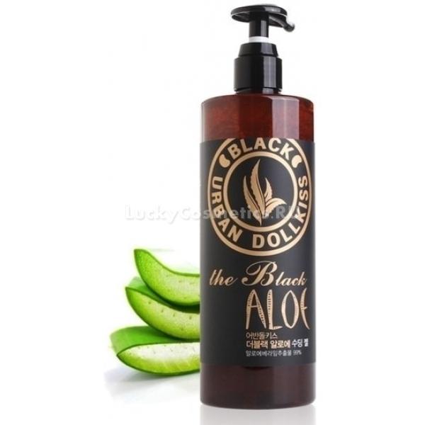 Baviphat Urban Dollkiss The Black Aloe Soothing GelГель от бренда Baviphat разработан специально для особо чувствительной и склонной к сухости кожи, а также рекомендован для проблемной кожи. Успокаивающая формула средства базируется на комплексе полезных и по-настоящему целебных компонентах - экстрактах черной фасоли, алоэ вера и зеленого чая, а также коллагене и гиалуроновой кислоте. Экстракт алоэ возвращает коже утраченную эластичность, снимает шелушения и предотвращает потерю воды в клетках. Он защищает и смягчает кожу, нормализует процессы в слоях тканей, ощутимо улучшает обменные реакции. Экстракт черной фасоли успокаивает кожу, успешно борется с раздражениями и уничтожает микробы. Придает коже заметную упругость, повышает эластичность и увлажняет. Экстракт зеленого чая содействует кислороду лучше проникать внутрь тканей и, являясь сильнейшим антиоксидантом, помогает коже успешно сопротивляться неумолимому старению. Борется с мелкими морщинками, освежает кожу. Действие коллагена во многом схоже с действием гиалуроновой кислоты, они увлажняют кожу, и, воздействуя на морщины, разглаживают их. Под их влиянием кожа приобретает былую упругость, утраченную эластичность, а контуры лица кажутся более четкими и подтянутыми. Гель оздоравливает кожу, защищает от первичных признаков старения.Объём: 500 млСпособ применения:Круговыми массажными движениями гель нанести на кожу лица.<br>