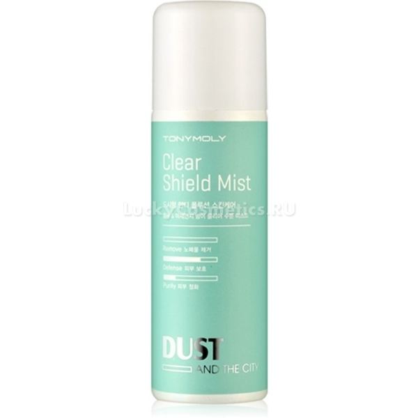 Защитный спрей для  Tony Moly Dust And The City Clear Shield Mist