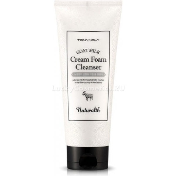 Tony Moly Naturalth Goat Milk Cream Foam Cleanser -  Для лица