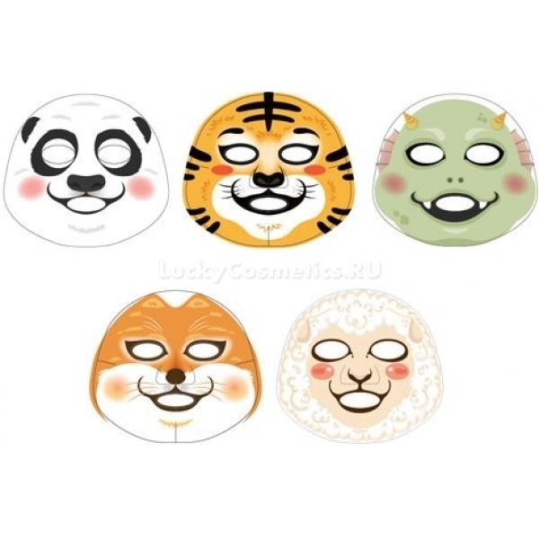 The Face Shop Mask CharacterВсе известные одноразовые маски на тканевой основе выглядят одинаково &amp;ndash; белое полотно на лице, придающее ему жутковатый вид. Кроме того &amp;ndash; это ужасно скучно! Рутинную процедуру использования маски поможет разнообразить этот оригинальный продукт. Использовать такие маски гораздо приятней не только потому, что люди, с которыми возможно общение во время применения, перестанут чувствовать дискомфорт. Они просто поднимают настроение! Достаточно посмотреть в зеркало, и забавная мордашка заставляет забыть о том, что уход за лицом &amp;ndash; это тяжелая работа. Впечатление такое, будто вокруг вдруг наступил детский карнавал!<br><br>В список полезных свойств маски входят:<br><br><br>Увлажнение гиалуроновой кислотой;<br>Восстановление структуры матрикса коллагеном из морских водорослей;<br>Питание и лечение воспалений с помощью медового экстракта.<br><br><br>На выбор доступны масочки в виде дракоши, лисы и панды.<br><br>&amp;nbsp;<br><br>Объём: 1 шт<br><br>&amp;nbsp;<br><br>Способ применения:<br><br>Использовать средство нужно так же, как и другие маски на тканевой основе. Сперва позаботьтесь о чистоте лица с помощью мягкого скраба или тонера. Затем на сухую кожу положите масочку и расправьте складочки для плотного прилегания основы к лицу. 10-15 минут можете спокойно лежать или заниматься своими делами, а потом маска снимается, и остатки активной субстанции втираются в кожу массирующими движениями.<br>