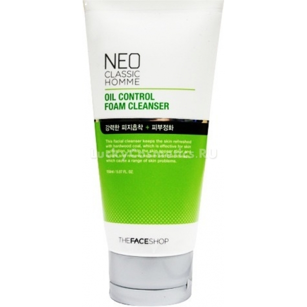 The Face Shop Neo Classic Homme Oil Control Foam Cleanse