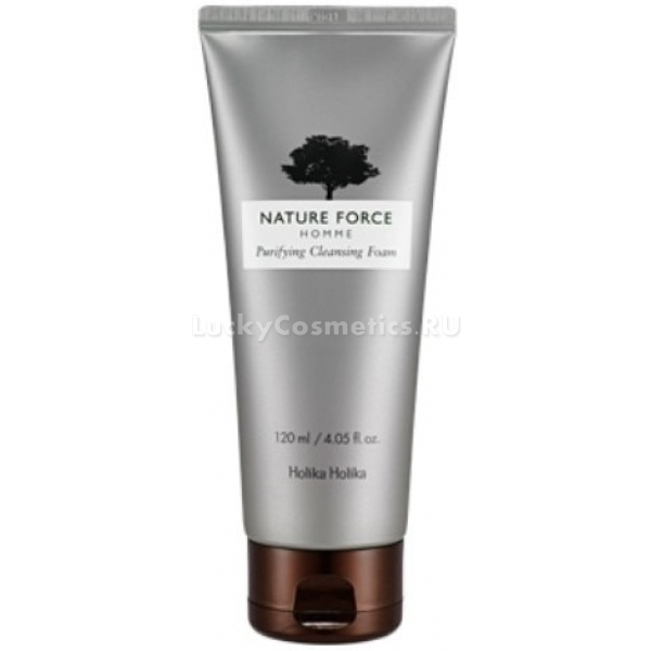 Holika Holika Nature Force Purifying Cleansing Foam
