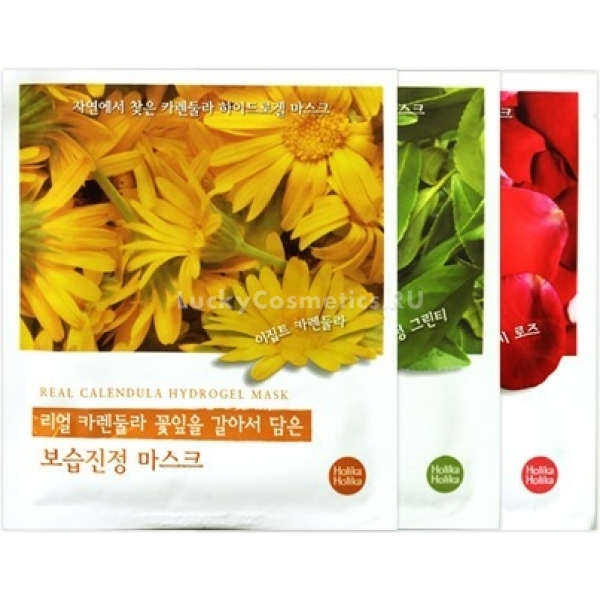 Holika Holika Found From Nature  Hydrogel Mask
