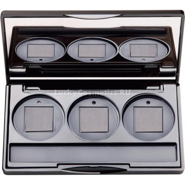 Limoni Magic Box lackУдобная универсальная палитра для размещения трех средств на специальных магнитах понравится любой девушке, ценящей комфорт и удобство при создании макияжа.<br><br>В палитру Вlack можно поместить три оттенка теней, которые будут сочетаться между собой, или же три вида любимых консилеров, которыми вы обычно пользуетесь при скульптурировании. У компании Limoni в ассортименте множество средств, которые можно гармонично сочетать друг с другом, помещая в одну удобную палетку.<br><br>Компактную упаковку удобно положить в косметичку или в женскую сумочку, чтобы средствами можно было одновременно воспользоваться в любом удобном месте.<br><br>Палетка содержит удобное большое зеркальце, которое размещено на крышечке, а также отсек для хранения кисточек.<br><br>&amp;nbsp;<br><br>Объём: 1 шт.<br><br>&amp;nbsp;<br><br>Способ применения:<br><br>Поместить в пустые отсеки средства, прикрепляемые на магнит.<br>