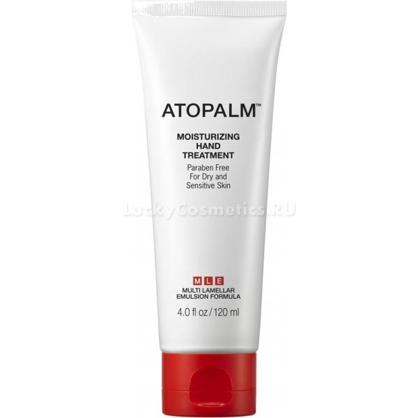 Atopalm Moisturizing Hand TreatmentМультифункциональный крем для рук Atopalm входит в коллекцию лечебных продуктов для чувствительной, сухой, обезвоженной и склонной к раздражениям кожи. Он интенсивно наполняет клетки кожи влагой, питательными элементами, разглаживает ее, делает мягкой, нежной и бархатистой. Крем препятствует возникновению сухости, морщин и пигментных пятен, способствуя приданию коже упругости и эластичности.<br>В составе продукта комплекс ценных масел, а также вытяжки лечебных растений, которые оказывают успокаивающий, антибактериальный, защитный, антиоксидантный и увлажняющий эффект.<br>При регулярном применении средства кожа рук приобретает мягкость, наполняется влагой изнутри, восстанавливается ее липидный барьер, она приобретает защиту от всевозможных разрушительных воздействий окружающей среды.Объём: 120 мл.Способ применения:Наносить на чистую сухую кожу рук массажными движениями до полного впитывания.<br>