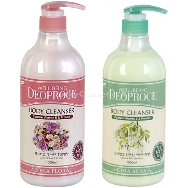 Deoproce WellBeing Aroma Body Cleanser