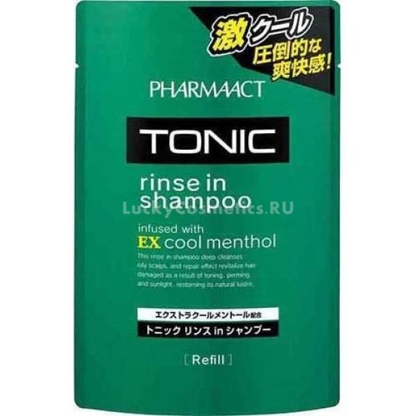Купить Kumano Cosmetics Pharmaact Tonic Rinse in Shampoo EX Cool Menthol