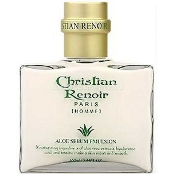 W Clinic Christian Renoir Aloe Vera Sebum Emulsion Homme