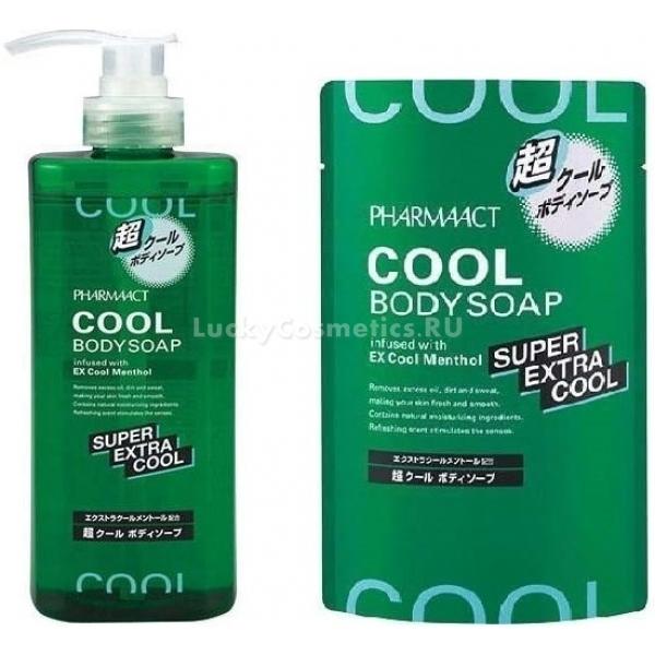 Купить Kumano Cosmetics Pharmaact Extra Cool Body Soap