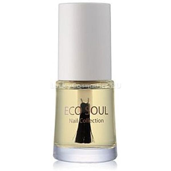 The Saem Eco Soul Nail Cuticle Collection Essential OilГладкие, плотно прилегающие к ногтевой пластинке кутикулы &amp;ndash; признак здоровья и красоты ногтей, независимо от стиля маникюра. Сохранять их такими своими силами непросто, но специальное масло для увлажнения кутикул Cuticle Essential Oil из серии Eco Soul Nail Collection от бренда The Saem при регулярном использовании легко приводит в норму повреждённые, ослабленные и требующие ухода ногти и кутикулы.<br><br>Для улучшения эффекта от использования масла применяйте его в комплексе со средством для укрепления ногтей (Tone Changer) и быстрой сушки и верхнего защитного покрытия (Quick Dry Multi) из той же серии Nail Collection.<br><br>&amp;nbsp;<br><br>Объём: 10 мл<br><br>&amp;nbsp;<br><br>Способ применения:<br><br>Ногти перед использованием средства необходимо полностью очистить от лака. Кисточкой, встроенной в крышечку, нанесите масло на кутикулы и распределите по ногтевой пластинке. Дождитесь полного высыхания масла. Для полного эффекта применяйте средство 3-4 раза в неделю в любое удобное для вас время.<br>