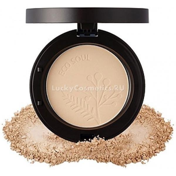 The Saem Eco Soul Real Fit Powder Natural Beige -  Макияж