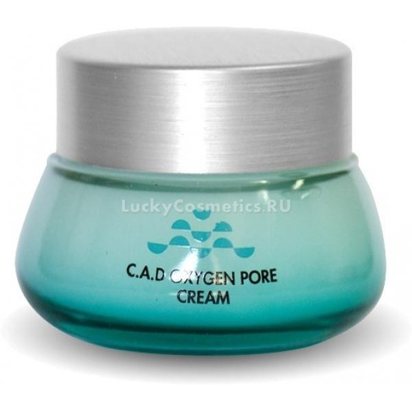Крем поросужающий Lioele C.A.D Oxygen Pore CreamДанный крем представляет собой необходимый продукт по уходу за жирным, проблемным и комбинированным типами кожи с наличием таких несовершенств, как широкие поры, неопрятный блеск, тусклый оттенок, а также воспаления. Он обладает гелевой легчайшей текстурой, которая безупречно впитывается во в эпидермис, насыщая каждую клеточку целебными элементами и витаминами. Его всесторонний положительный эффект на повышение качества кожи обеспечивается из-за присутствия в составе полезных компонентов. Состав крема включает такие ингредиенты, как трегалоза, а также бетаин. Эти вещества обладают себорегулирующими, балансирующими, увлажняющими, бактерицидными и антивоспалительными свойствами. Кислородный комплекс в составе позволяет возвратить коже здоровый оттенок, а также сияние. Регулярное использование представленного продукта позволяет забыть о таких неприятностях, как широкие поры, высыпания, неопрятный блеск, а также тусклый оттенок, делая кожу матовой, здоровой, гладкой и увлажненной. Стать обладательницей идеально красивой кожи – это просто, применяя этот крем от корейского производителя Lioele!Объём: 55 млСпособ применения:Продукт рекомендуется наносить на лицо после каждого вечернего и утреннего этапов очищения.<br>