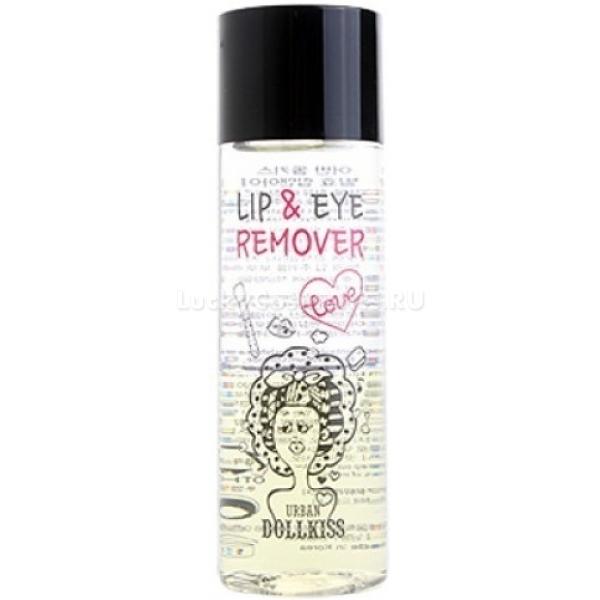 Baviphat Urban Dollkiss The Pure Fermented Lip  Eye RemoverСреди всей декоративной косметики тяжелей всего избавляться от ярких и тяжелых для нежной кожи средств, украшающих глаза и губы. Чтобы не травмировать эпидермис, не терять собственное время и силы, используйте Pure Fermented Remover из серии Dollkiss бренда Baviphat.<br>С помощью этого средства вы сможете быстро и деликатно избавиться от любой косметики без каких-либо раздражений и дискомфорта, что позволяет использовать его даже тем, кто вынужден носить линзы.<br>Ферментированный ремувер не просто удаляет косметику, но и защищает кожу от агрессивных компонентов различной косметики. Кроме того, экстракт из молочных дрожжей способствует быстрой регенерации, интенсивному питанию и увлажнению кожи, благодаря чему регулярное использование средства сделает вашу кожу сильной, здоровой, эластичной и упругой.Объём: 100 млСпособ применения:Перед снятием макияжа баночку необходимо встряхнуть. Используйте ватные диски – промочив диск средством, приложите его к веку или губам, подержите 10-15 секунд, затем протрите кожу, снимая основную часть косметики. Смойте остатки растворенных косметических средств и промойте кожу теплой водой.<br>