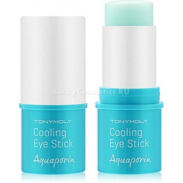 Охлаждающий стик для глаз Tony Moly Aquaporin Cooling Eye StickВ течение дня глаза испытывают колоссальные нагрузки, а кожа вокруг них быстрее увядает, появляются морщинки. С инновационным средством - стиком для кожи вокруг глаз от бренда Tony Moly. Его уникальность состоит в том, что в основе средства содержатся аквапорины - белки, которые отвечают за межклеточное увлажнение. Они переносят молекулы воды к каждой клеточке, пропуская 3 млрд. молекул в секунду. Эти белки помогают влаге задерживаться внутри клеток, постоянно питая их. Аквапорины уже содержатся в кожных тканях, однако с течением времени их количество постепенно сокращается, что приводит к уменьшению уровня естественного увлажнения тканей. Стик позволяет восполнить недостаток аквапоринов в клетках, принося долгожданное увлажнение, свежесть, снимает видимые признаки, отеки, охлаждает и помогает в разглаживании морщин. Благотворное действие аквапоринов усиливают природные компоненты, за счет которых происходит формирование барьерной защиты кожи, тонизирование, маскировка и предотвращение появления потемнений под глазами.<br><br>&amp;nbsp;<br><br>Объём: 9 г<br><br>&amp;nbsp;<br><br>Способ применения:<br><br>Нанести стик на кожу в области глаз по мере необходимости.<br>