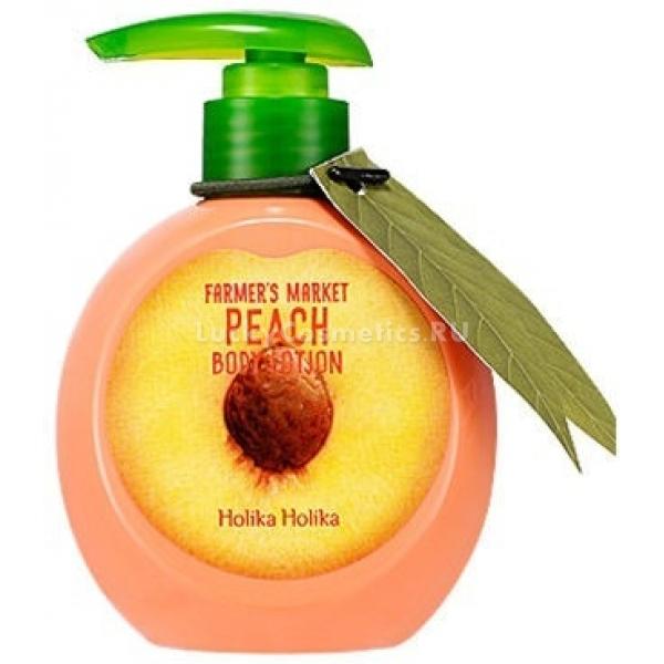 Увлажняющий лосьон для тела Holika Holika Farmer's Market Peach Body Lotion