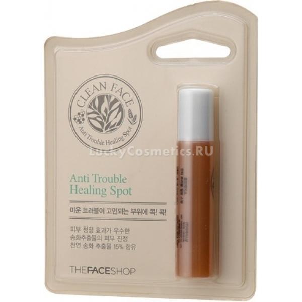 Купить The Face Shop Clean Face Anti Trouble Spot