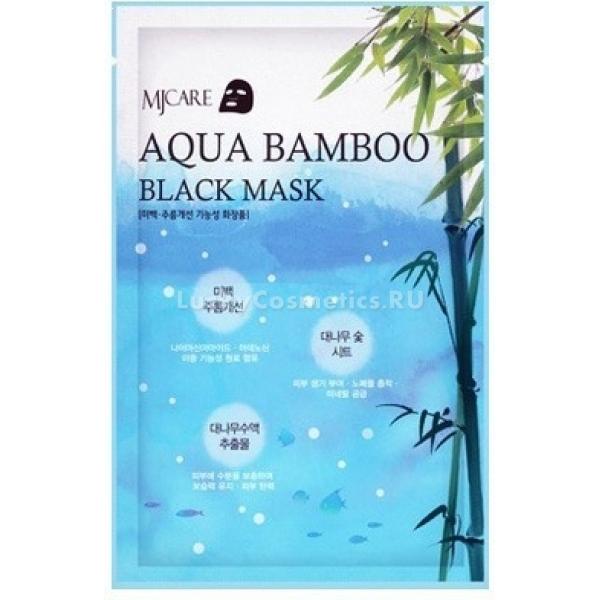 Купить Mijin Cosmetics Aqua Bamboo Black Mask