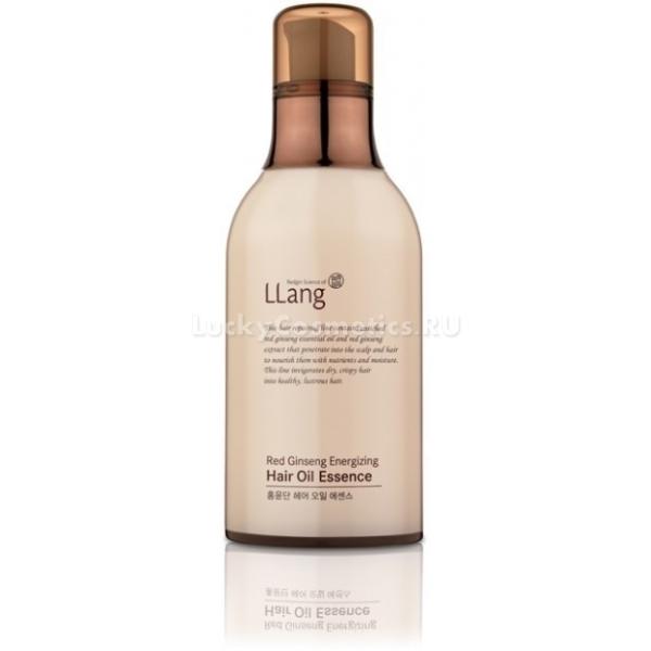Масляная сыворотка для локонов Llang Red Ginseng Energizing Hair Oil Essence