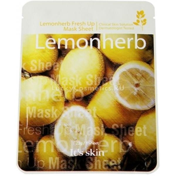Купить Its Skin Lemonherb Fresh Up Mask Sheet, It's skin