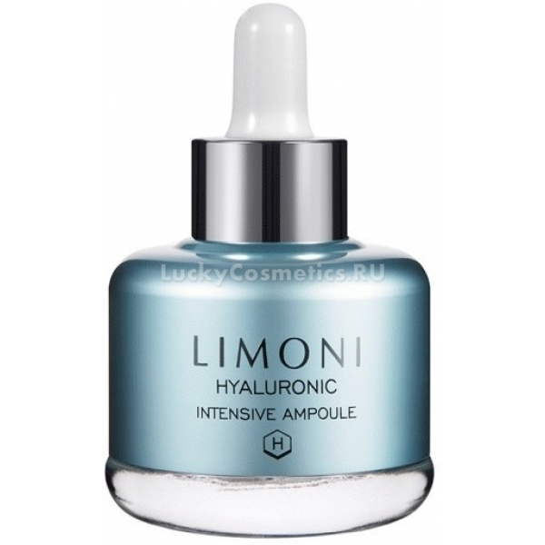 Limoni Hyaluronic Ultra Moisture AmpouleОсвежить и восстановить клетки кожи поможет суперувлажняющая сыворотка для лица с большой концентрацией гиалуроновой кислоты от корейского бренда Limoni. Сыворотка прекрасно борется с первыми признаками старения и увядания кожи, предотвращает образование морщин и придает коже свежий и сияющий вид.<br><br>Средство протестировано дерматологически и не вызывает раздражений и аллергических реакций. Кроме того оно прекрасно компонирует с другими уходовыми средствами и улучшает их действие. Благодаря натуральным растительным компонентам, сыворотка не пересушивает и не раздражает кожу. Уже после первого применения Вы заметите ощутимый результат, кожа станет более упругой, мягкой и увлажненной, без эффекта жирного блеска.<br><br>Растительные компоненты проникают глубоко в структуру клеток и восстанавливают их водно &amp;ndash; солевой баланс, регулируют выработку кожного сала, уменьшают проявление акне и черных точек.<br><br>Гиалуроновая кислота превосходно тонизирует, освежает и разглаживает морщины, наполняя их изнутри коллагеном, стимулирует клетки к выработке собственного коллагена.<br><br>Экстракт ежевики улучшает тон лица, способствует укреплению сосудов и кожи, обладает антибактериальным действием.<br><br>Сок японской березы уменьшает отечность, снимает усталость и придает матовость коже.<br><br>&amp;nbsp;<br><br>Объём: 25 мл.<br><br>&amp;nbsp;<br><br>Способ применения:<br><br>Несколько капель Hyaluronic Ultra Moisture Ampoule нанесите на кожу лица и легкими похлопывающими движениями распределите по поверхности, дайте средству впитаться, также можно использовать на зону декольте и шеи.<br>